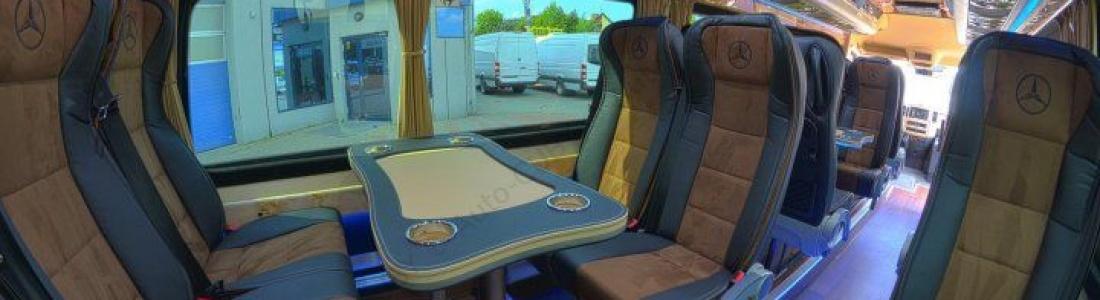 Nowy mini autokar VIP w czerwcu 2016